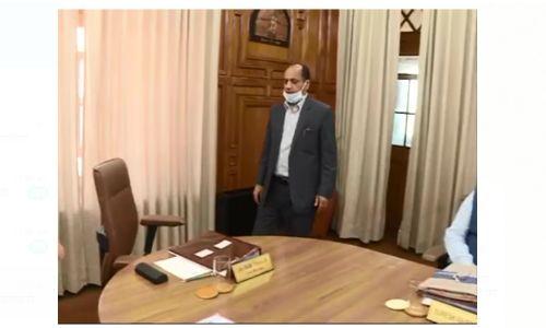 हिमाचल प्रदेश मंत्रिमंडल की बैठक प्रदेश सचिवालय में शुरू, कोविड 19 से निबटने को लेकर होगी अहम चर्चा