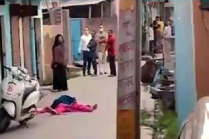 यूपी में सनसनीखेज वारदात : महिला ने गर्भवती सौतन की गोली मारकर हत्या की फिर पिस्टल लहराती हुई...