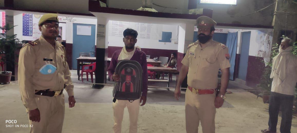 इटावा पुलिस ने 1.22 लाख रुपए लूट की झूठी सूचना देने वाला अभियुक्त किया गिरफ्तार