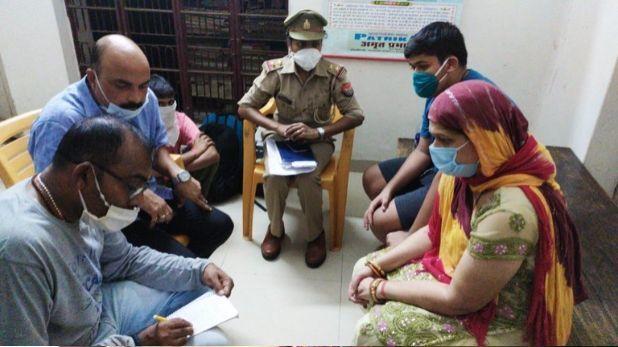 पूछताछ के बाद पुलिस ने विकास दुबे की पत्नी और बेटे को छोड़ा, कल दोनों को लखनऊ से पकड़ा था