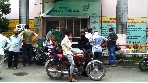 बिजनौर : अस्पताल स्टाफ में कोरोना की एंट्री स्टाफ नर्स कोरोना पॉजिटिव 3 दिन के लिए ज़िला अस्पताल बन्द