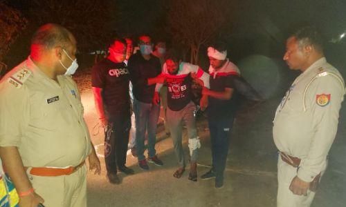 नोएडा: पुलिस मुठभेड़ के दौरान एक कुख्यात बदमाश गिरफ्तार