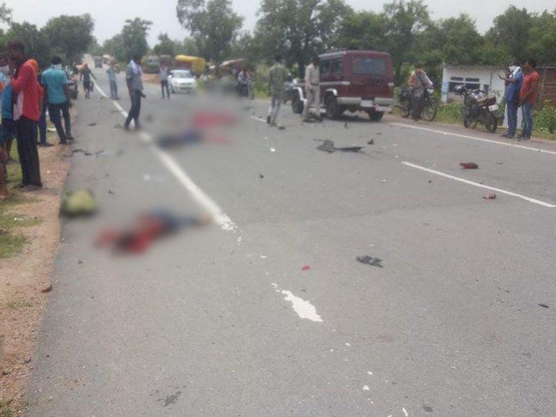 मध्य प्रदेश : छतरपुर में भीषण सड़क हादसा, 8 लोगों की दर्दनाक मौत.. सड़क पर बिखरी पड़ी थी लाशें?