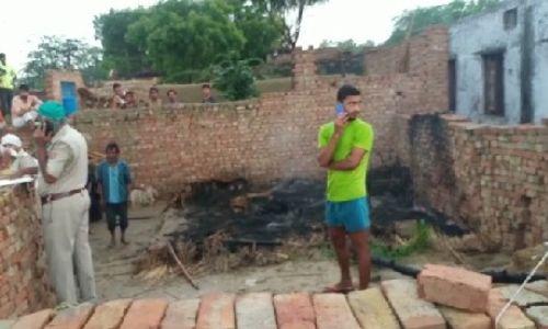 आगरा के एत्मादपुर में मिला प्रधान का जला हुआ शव, मंगलवार शाम को हुआ था गायब