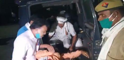 यूपी में अपराधी बैखौफ, संभल के चंदौसी में खाद व्यापारी की लूट के बाद हत्या