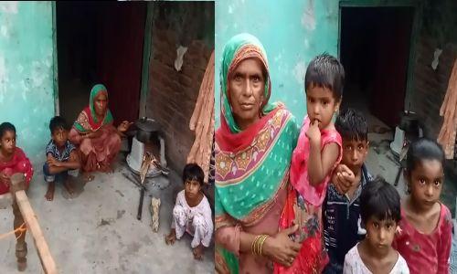 दिल्ली अग्नि कांड में मरे मुसर्रफ के परिवार को नही मिली को आर्थिक मदद, बच्चे भूंखे मरने की कगार पर