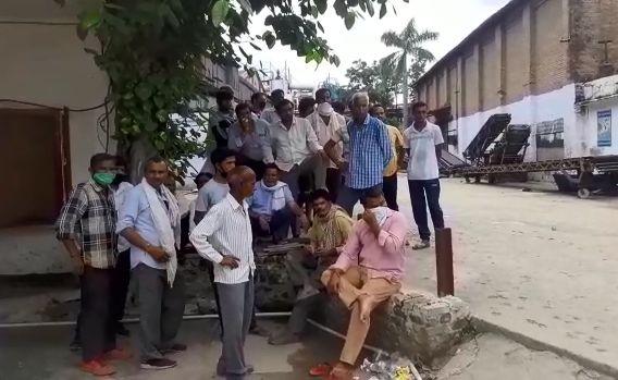 शुगर मिल में करंट से मजदूर की मौत