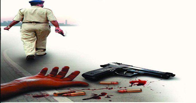 यूपी पुलिस ने एक लाख के इनामी बदमाश राकेश पाण्डेय को मार गिराया
