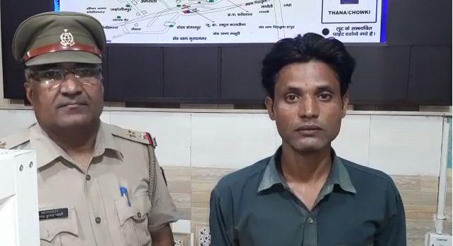 गाजियाबाद : थाना भोजपुर क्षेत्र में हुई हत्या में मित्र ही निकला कातिल, 3 घंटे में आरोपी गिरफ्तार