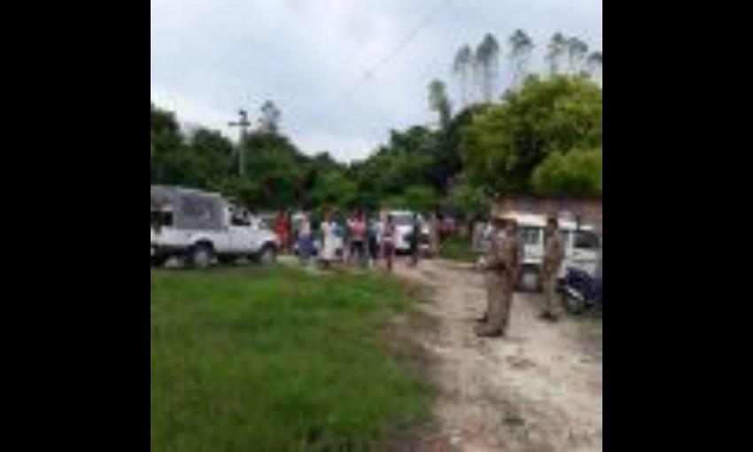 प्रतापगढ़ में प्रधान आशीष तिवारी और उनके भाई को मारी गोली