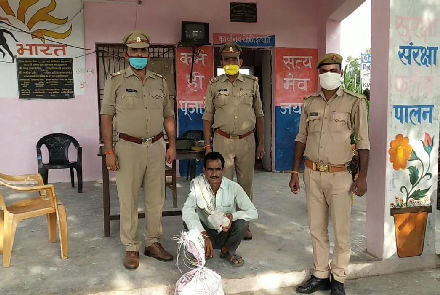 कासगंज पुलिस ने किया मोबाइल चोरी की घटना का 24 घण्टे में खुलासा