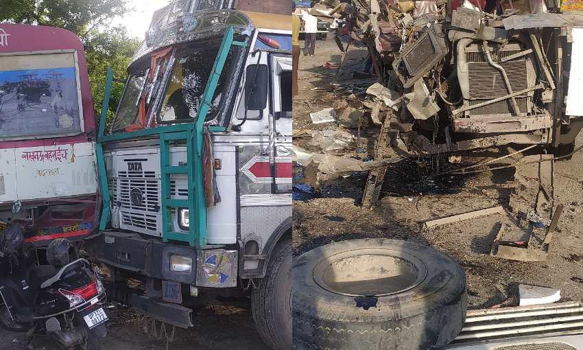 लखनऊ: काकोरी हरदोई रोड के पास हुआ भीषण हादसा, 6 की मौत 8 घायल