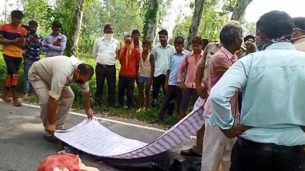बिजनौर में हुआ हादसा, दो लोंगों की मौत