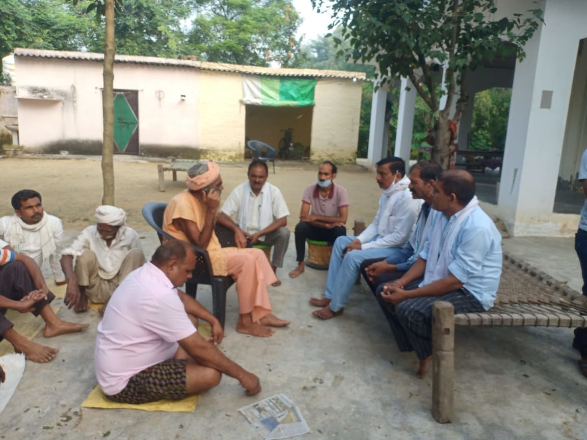 बिजनौर के चांदपुर में महाराज की मौत से मचा हड़कंप