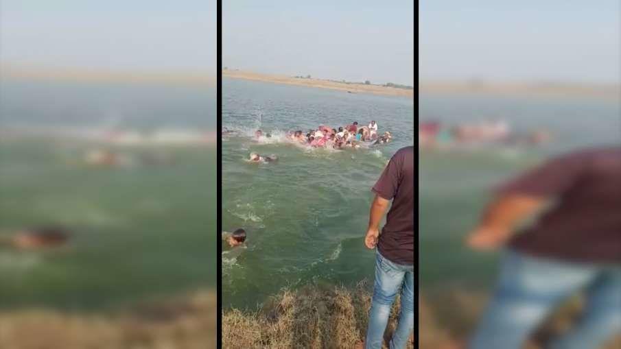 राजस्थान : चंबल नदी में 50 से अधिक लोगों से भरी नाव पलटी,14 लोग डूबे, 8 के शव मिले
