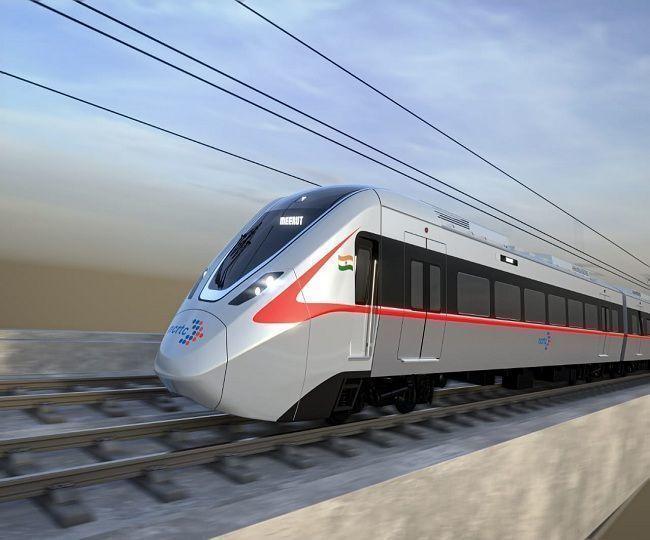 गाजियाबाद मेरठ के बीच चलने वाली ऐसी होगी हाईस्पीड ट्रेन